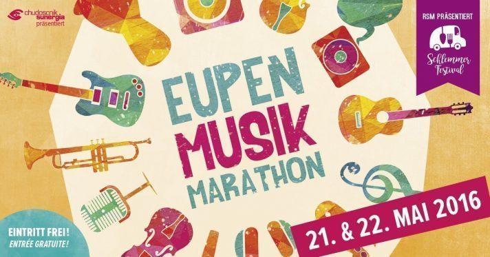 Eupen Musik Marathon 2016 am 21. und 22. Mai: Eintritt frei!