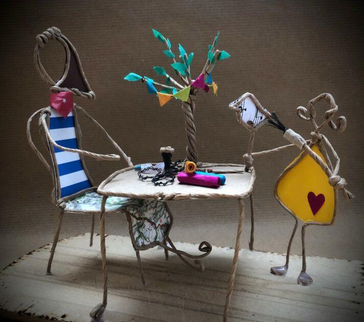 Elli Xhonneux: Kreatives Gestalten