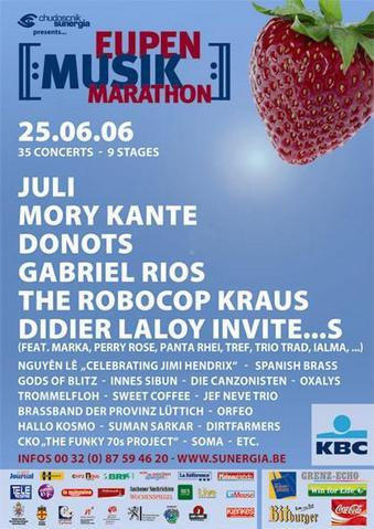 Eupen Musikmarathon 2006