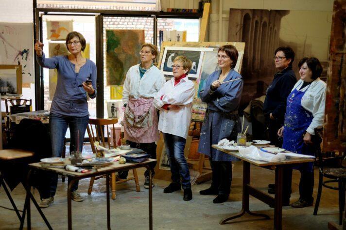 Tanja Mosblech: Malerei (Gruppe 2) – Warteliste